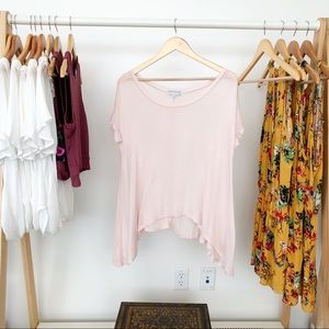 Urban Outfitters Daydreamer Light Pink T-Shirt